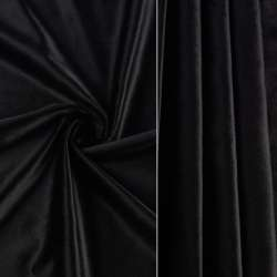 Велюр портьєрний чорний ш.280