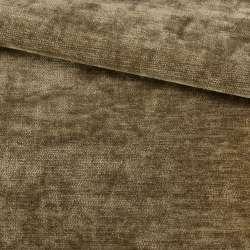 Велюр двухсторонний бежево-коричневый ш.280