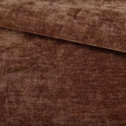 Велюр двосторонній коричневий ш.280