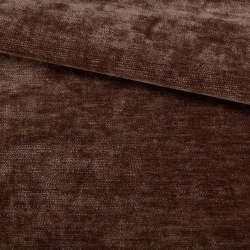 Велюр двосторонній коричневий темний ш.280