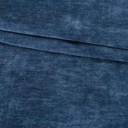 Велюр двосторонній синій сапфіровий ш.280