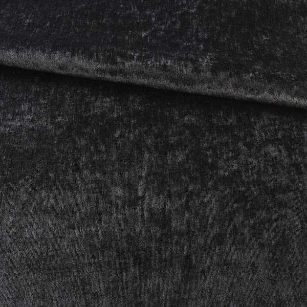 Велюр блекаут шторний чорний, ш.280
