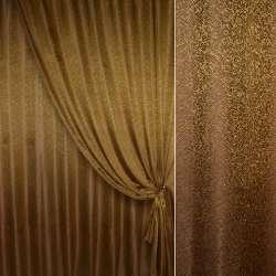 "жаккард порт. ""Пісок"" коричнево-золотистий, ш.280"