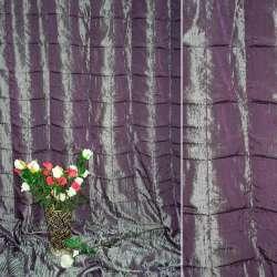 """Фукра портьерная фиолетовая """"квадраты"""", ш.270"""