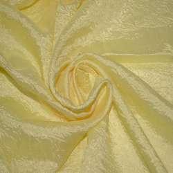 Креш портьерный бледно-желтый ш.280