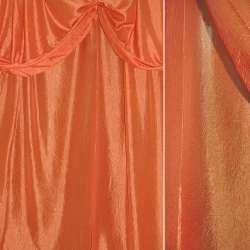 Креш портьерный оранжевый ш.280