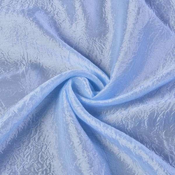 Креш портьерный голубой светлый ш.280