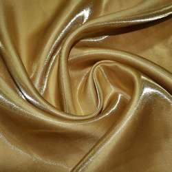 Крісталлон портьєрний гірчично-золотистий ш.280