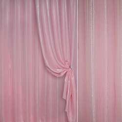 Кристаллон портьерный розовый ш.280