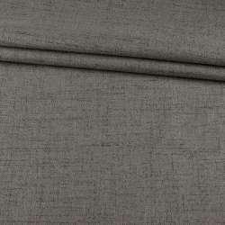 Блэкаут лен серый (на акриловой подложке), ш.280