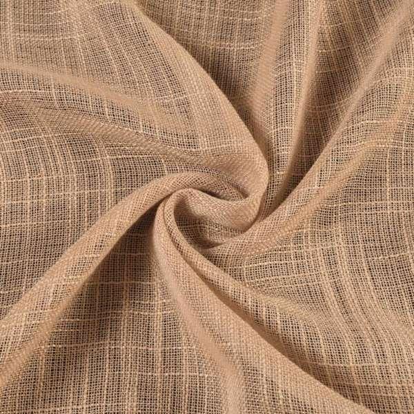 лен портьерный бледно-коричневый ш.280