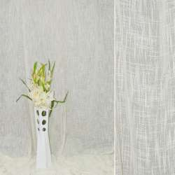 Лен портьерный молочный ш.280