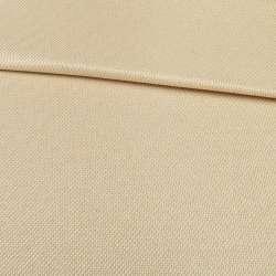 блекаут льон рогожка бежево-персикова ш.280