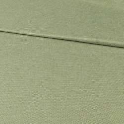 Блекаут льон рогожка зелена оливкова ш.280