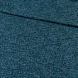 Блекаут льон синьо-чорний ш.280