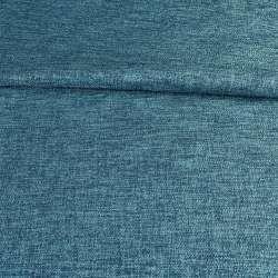 Блекаут льон рогожка синя ш.280