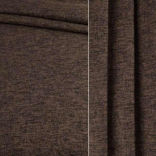 Блэкаут лен коричнево-табачный ш.280