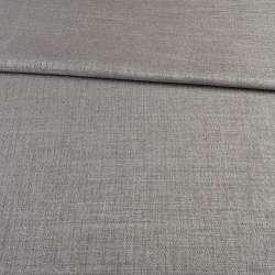Блекаут льон рогожка сірий кальцит ш.280