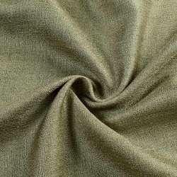 Лен портьерный темно-оливковый ш.280