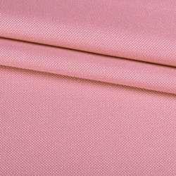 Рогожка дрібна блекаут (софт виворіт) рожева ш.280