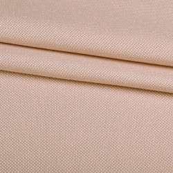 Рогожка дрібна блекаут (софт виворіт) кремова ш.280