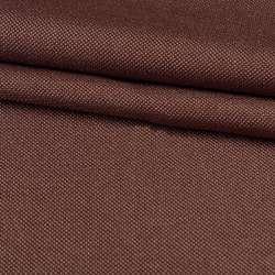 Рогожка дрібна блекаут (софт виворіт) коричнева ш.280