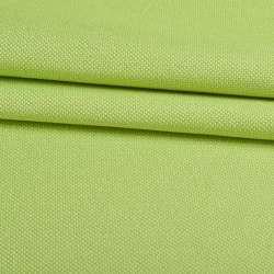 Рогожка дрібна блекаут (софт виворіт) зелена лайм ш.280