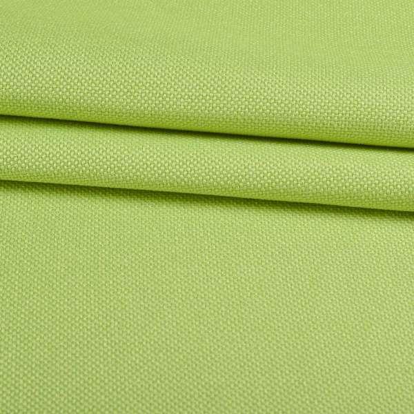 Рогожка мелкая блэкаут (софт изнанка) зеленая лайм ш.280