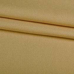 Рогожка дрібна блекаут (софт виворіт) бежева охра ш.275
