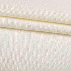 Рогожка дрібна блекаут (софт виворіт) молочна ш.280