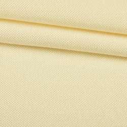 Рогожка дрібна блекаут (софт виворіт) вершкова ш.280