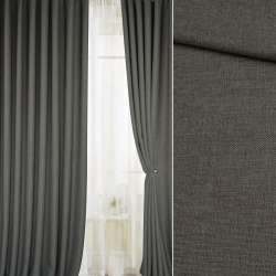 Рогожка для штор сіро-оливкова, ш.300