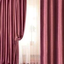 Софт блекаут меланж з блиском рожевий (фрез) ш.280