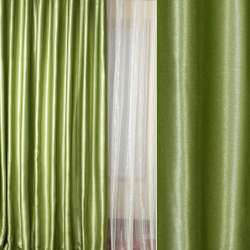 Софт блэкаут меланж с блеском зеленый (малахитовый) ш.280