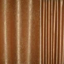 """Софт блэкаут коричневый крупный """"испанский дворик"""" ш.280"""