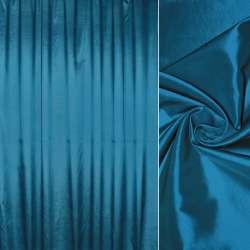 тафта порт. синя з чорним відливом гладка, ш.280