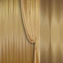 Шелк портьерный искусственный золото ш.280