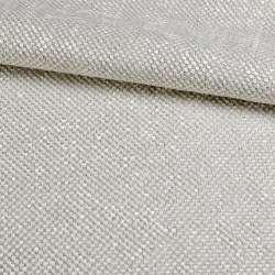 Рогожка шенилловая блэкаут 80% серая светлая, ш.280