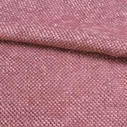 Рогожка шенилловая блэкаут розовая пурпурная темная ш.280