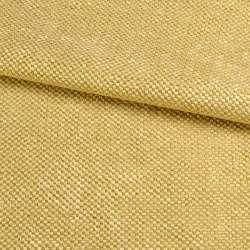 Рогожка шенилловая блэкаут золотисто-желтая ш.280