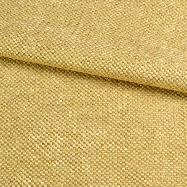 Рогожка шеніллова блекаут золотисто-жовта ш.280