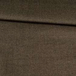 Рогожка деко коричнево-чорна, ш.160