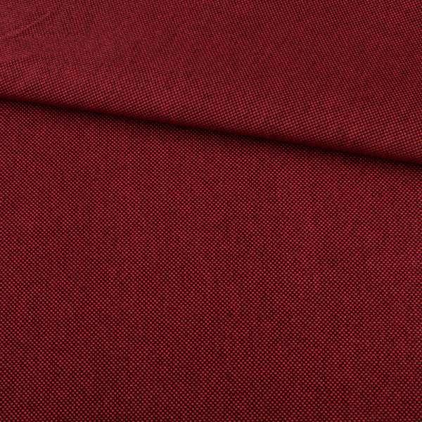 Рогожка красная темная дублированная (на войлочной основе), ш.150