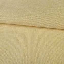 Рогожка на клейовий основі бежево-жовта, ш.150