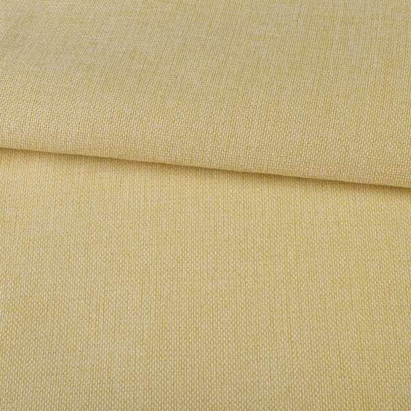 Рогожка на клеевой основе бежево-желтая, ш.150