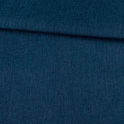Рогожка на клейовій основі синя, ш.150