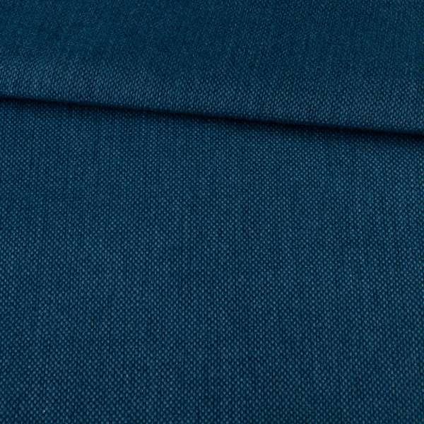 Рогожка на клеевой основе синяя, ш.150