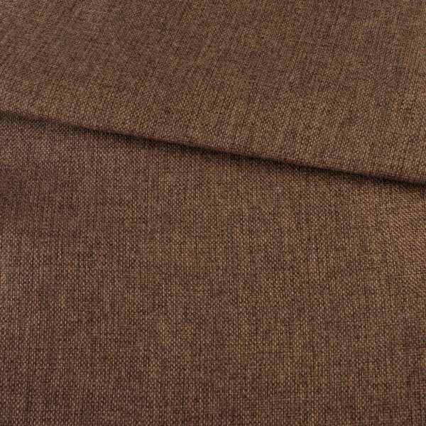 Рогожка на клеевой основе коричневая светлая, ш.150