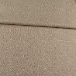 Рогожка інтер'єрна твідова з шовковим відливом бежевий, ш.142