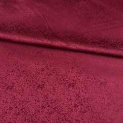 Жаккард скатерковий феєрверк бордовий, ш.320